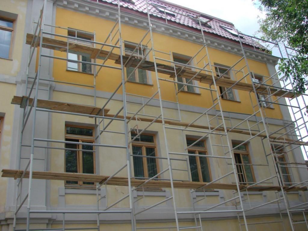 Смета на ремонт фасада