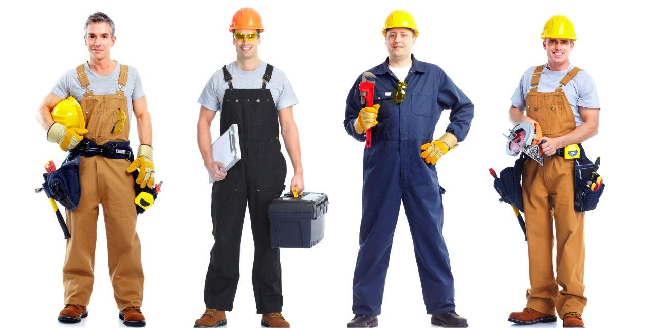 Спецодежда для строительных работников