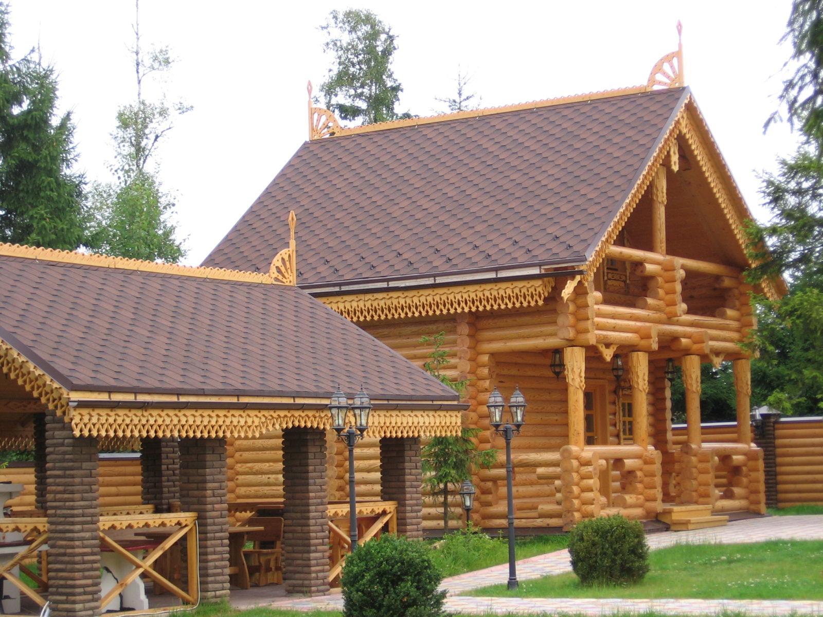 Строительство зданий из бруса1