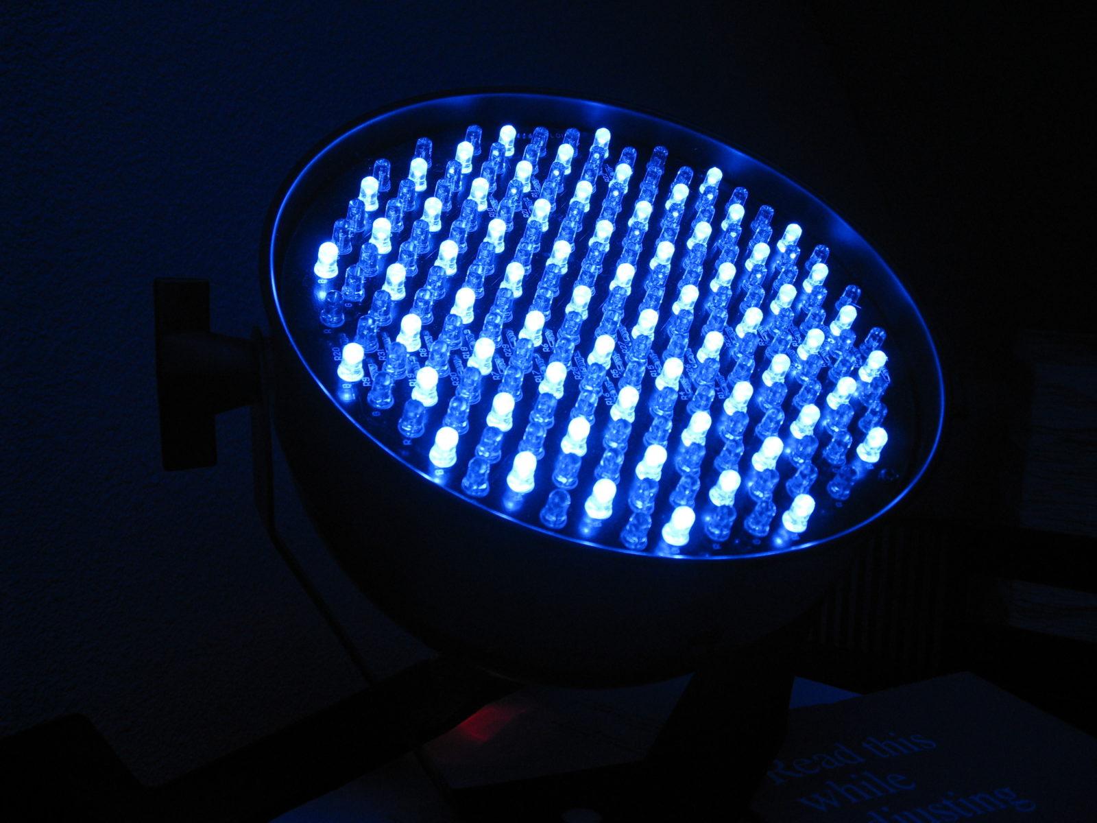 Как сделать прожектор из диодов