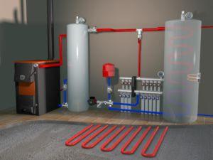 Виды систем отопления коттеджа