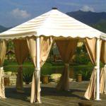 палатки для сада