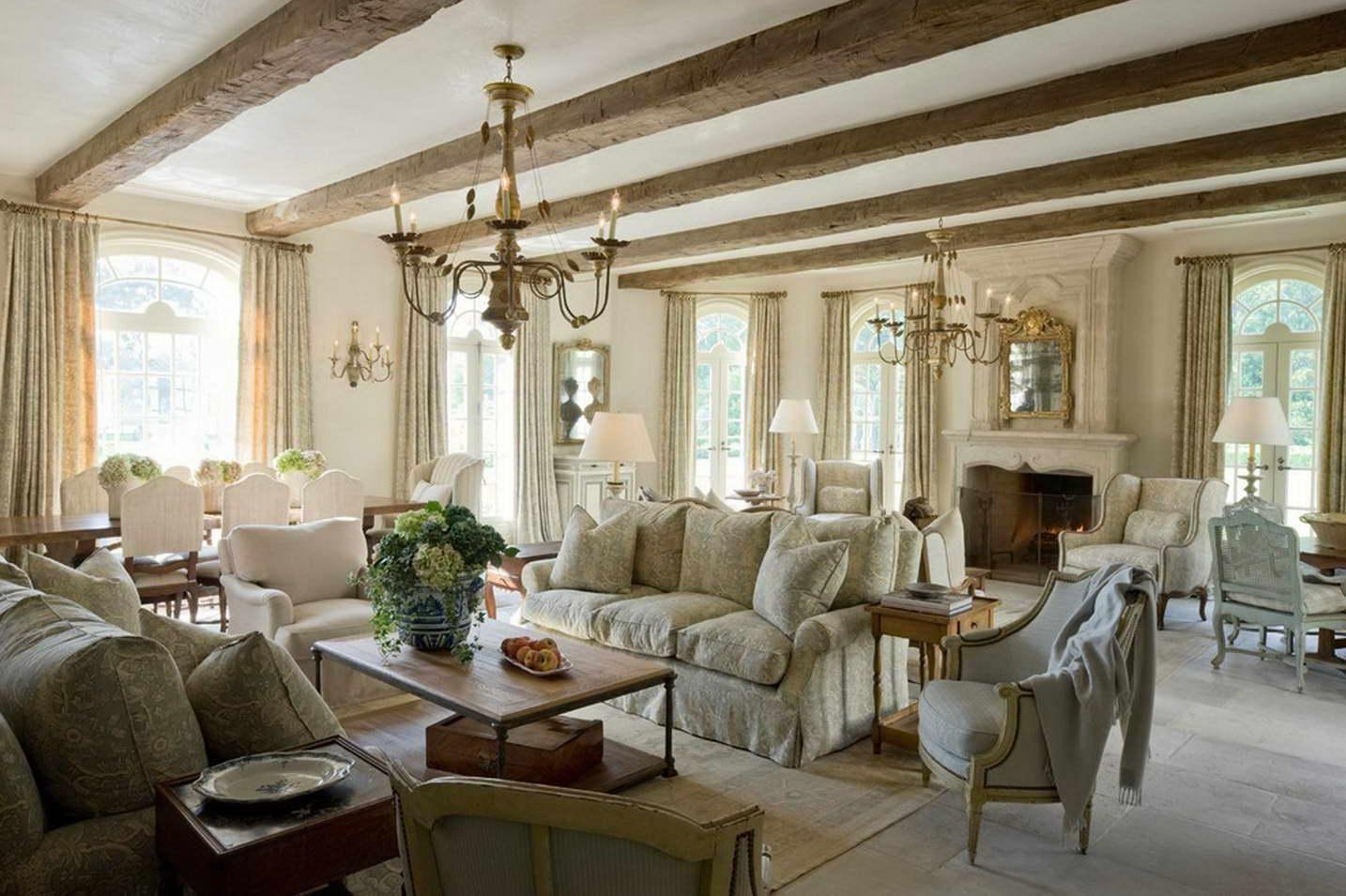 Французский прованс в интерьере дома