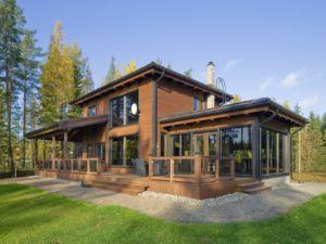 Как выбрать проект дома из бруса