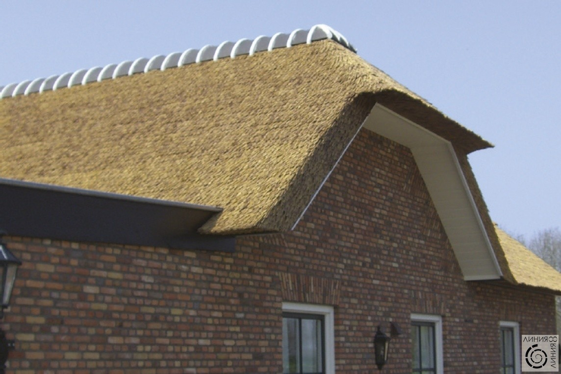 Натуральная солома для крыши