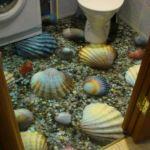 Необычные материалы для отделки ванной комнаты
