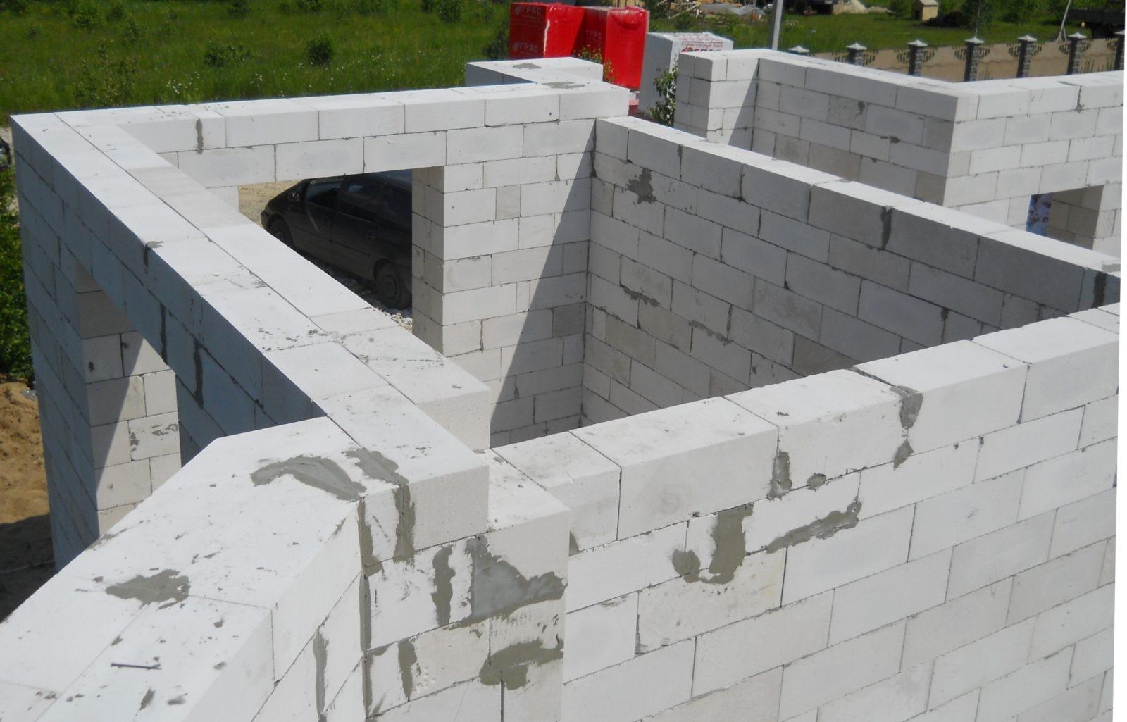 Особенности строительства зданий из газобетона