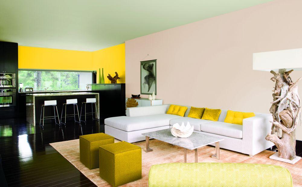 Оживляем интерьер - желтый цвет в дизайне