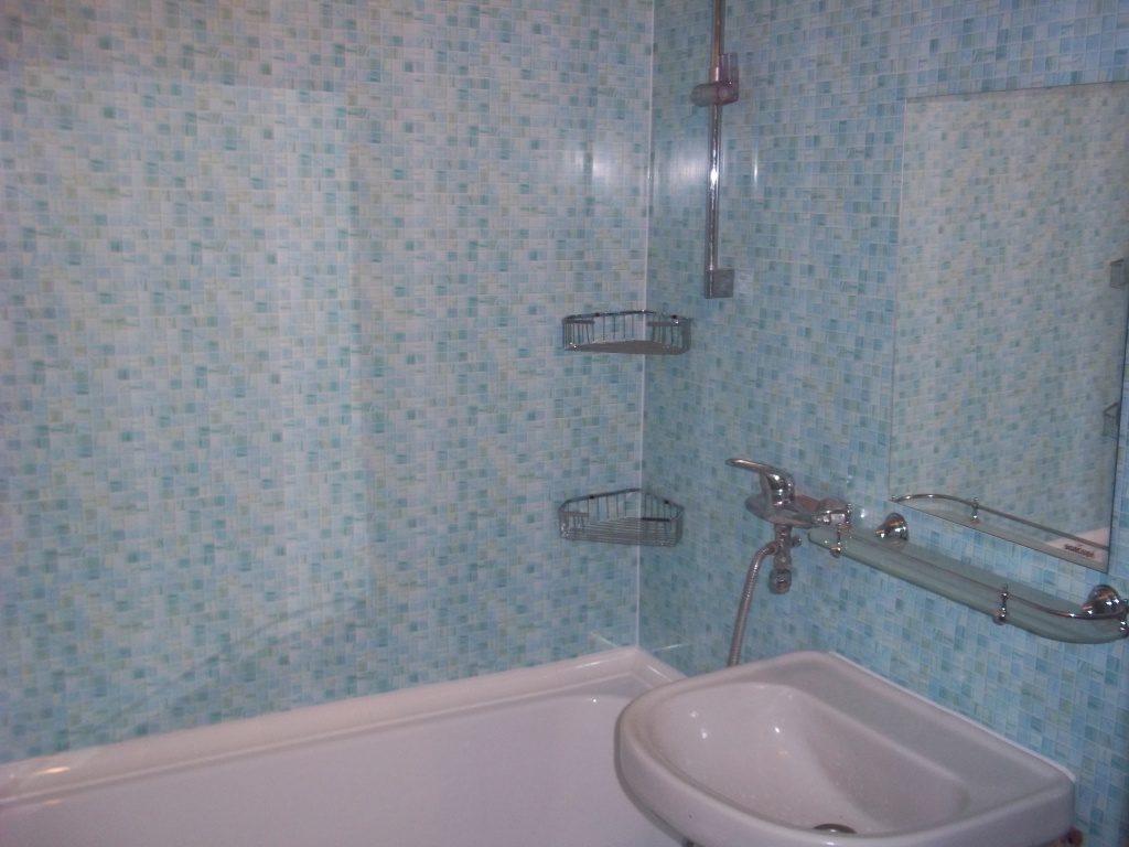 Пластиковые панели в отделке сантехнической комнаты
