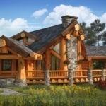 Преимущества бревенчатых домов