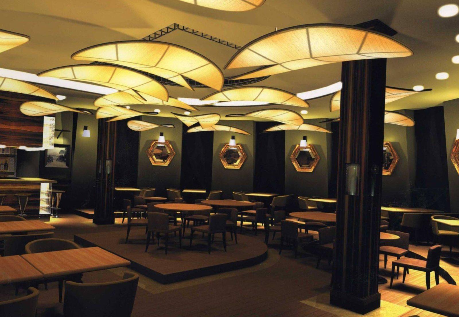 Профессиональный ремонт кафе и ресторанов