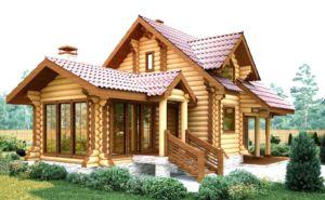 Разбираем деревянный дом