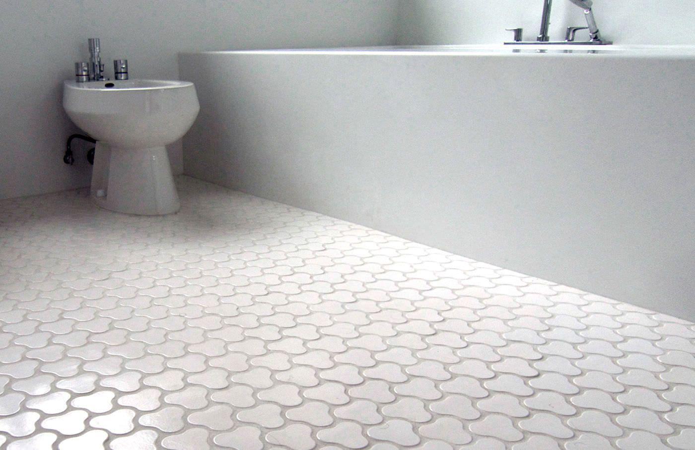 Ремонт в ванной: выбор напольной плитки