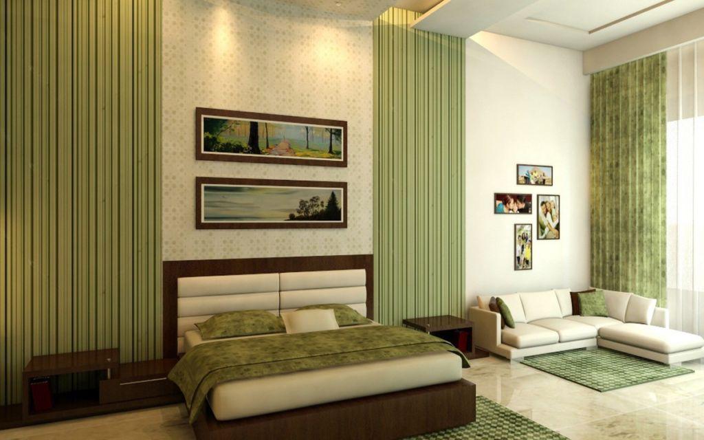 Успокаивающие цвета для стен зеленый