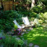 Зона отдыха в саду - традиции и современность