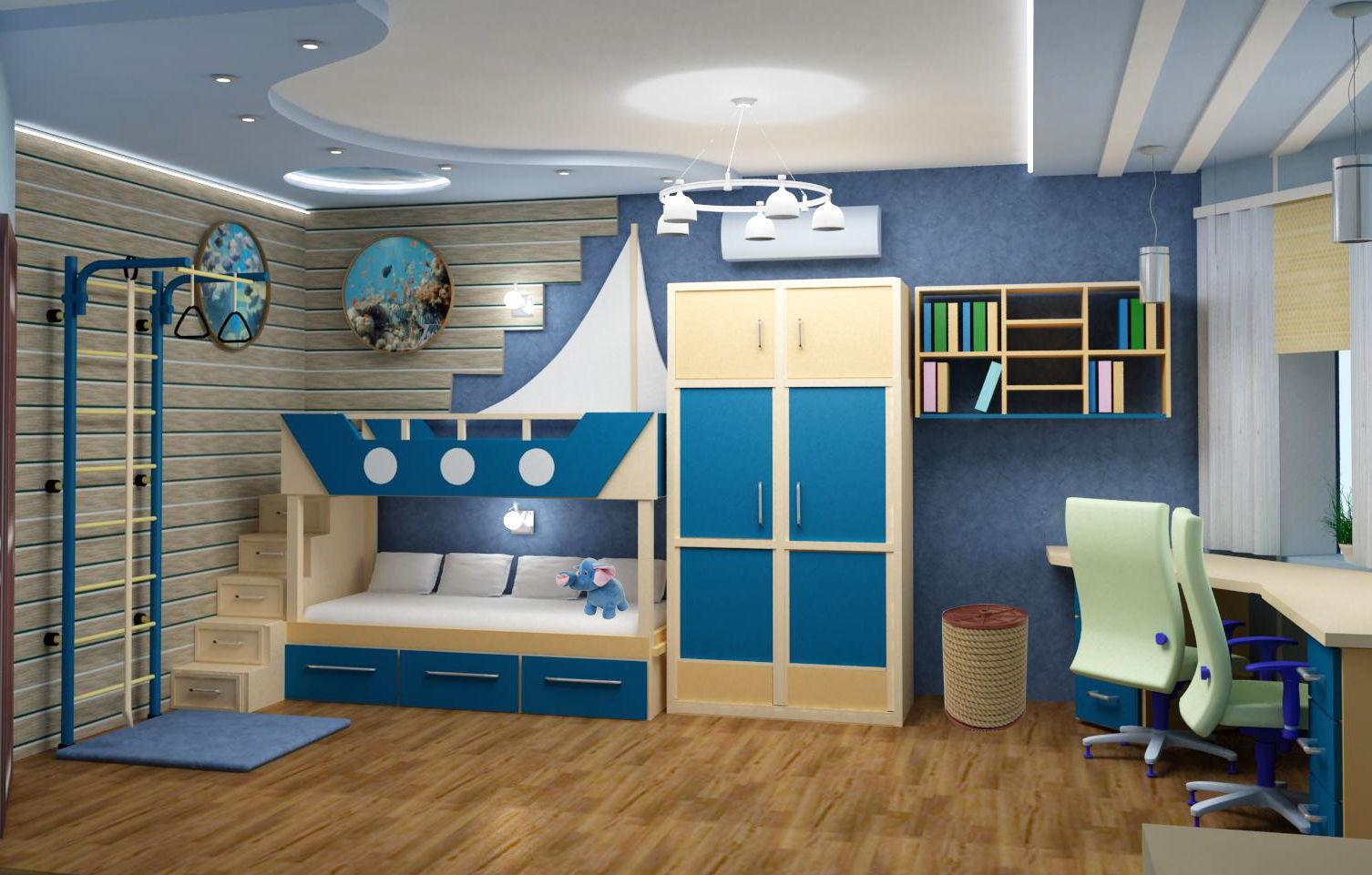 Дизайн детской комнаты - основные аспекты