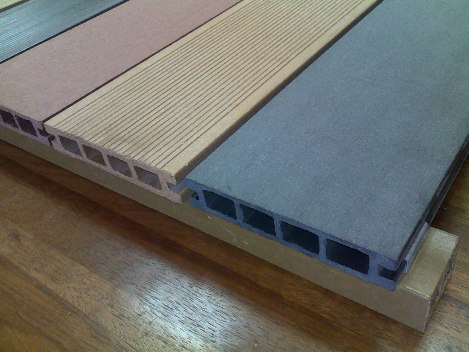 Использование полимерной террасной доски