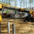 Использование ямобура в строительстве