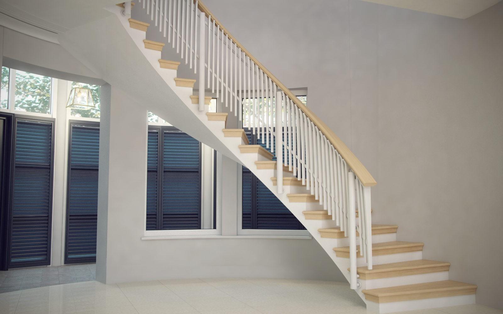 Как правильно выбрать деревянные лестницы