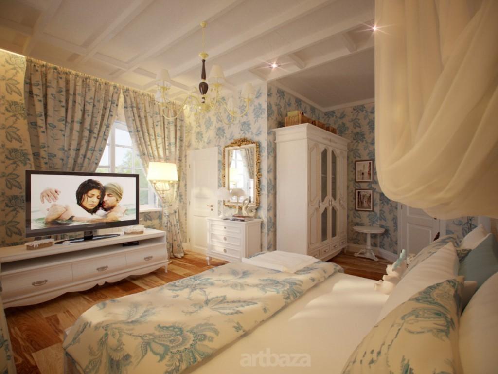 Какие существуют варианты оформления спальни прованс