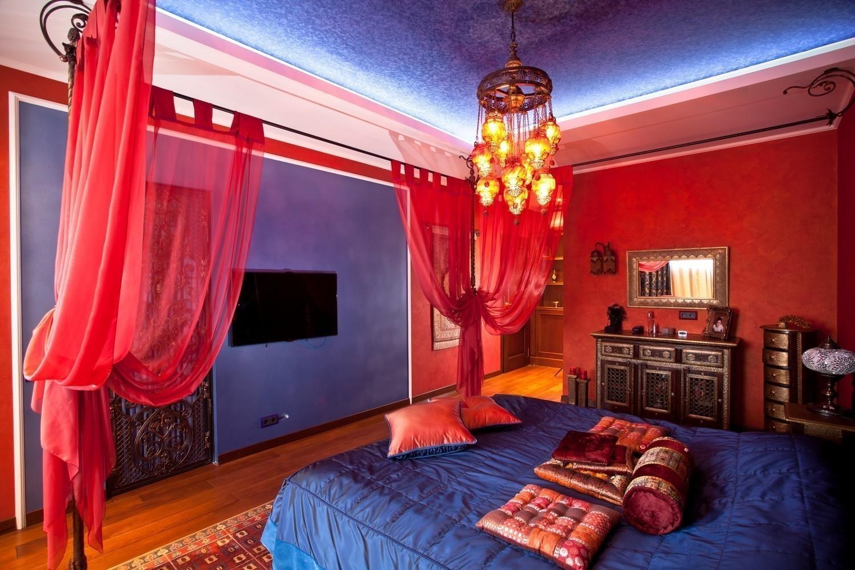 Какие существуют варианты оформления спальни восточном стиле