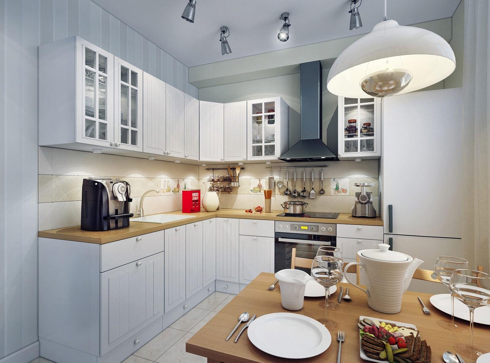 Какой выбрать потолочный светильник для кухни