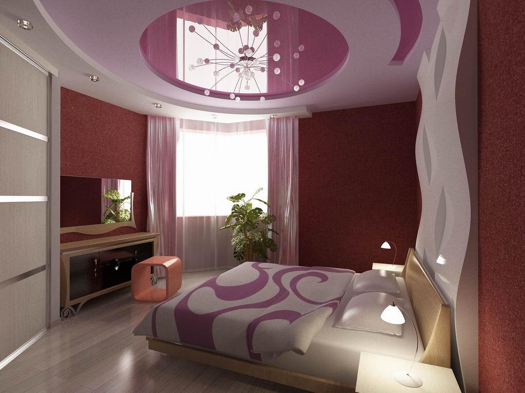 Мебель для высоких потолков в спальне