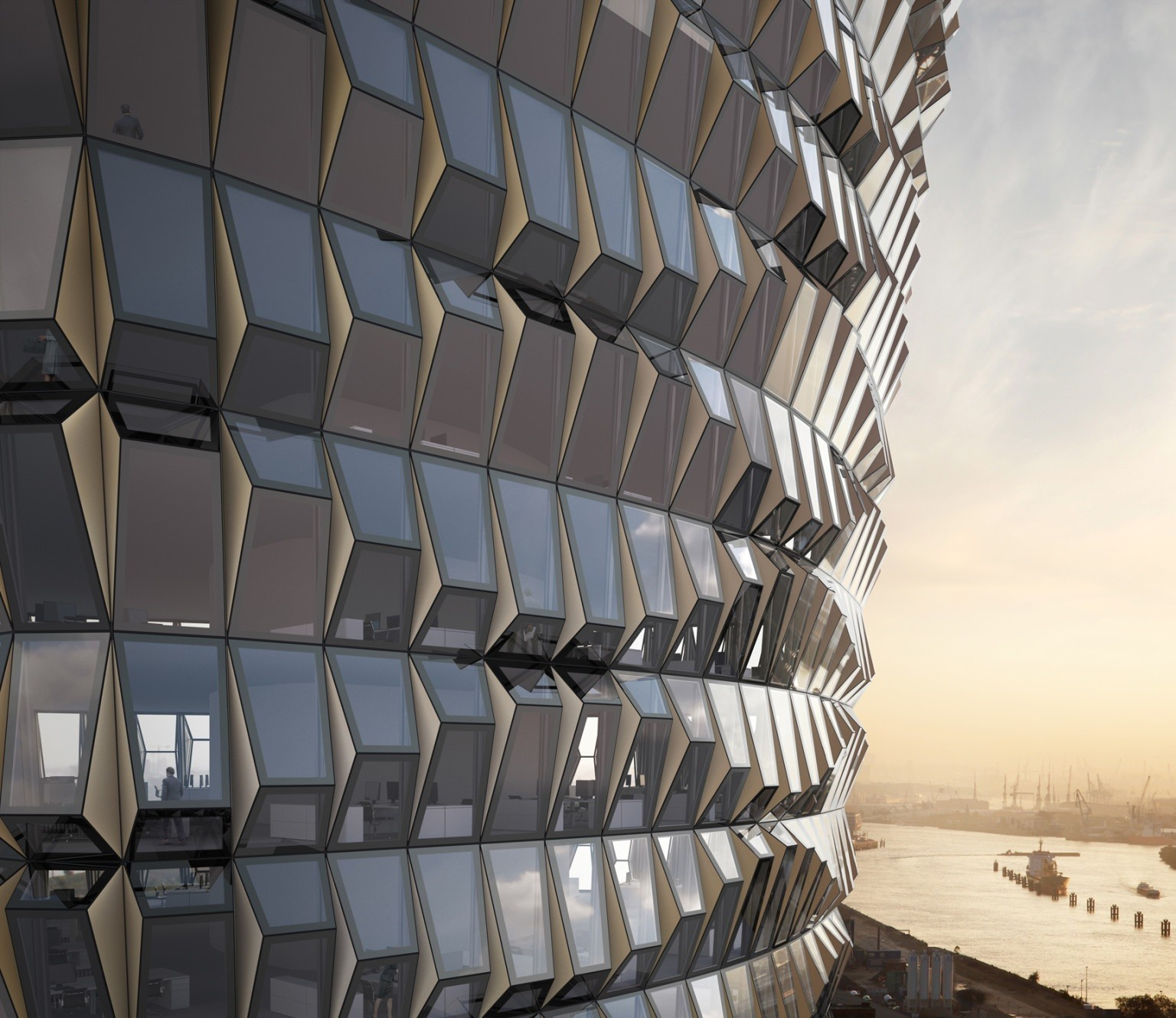 Новейшая технология фасада зданий