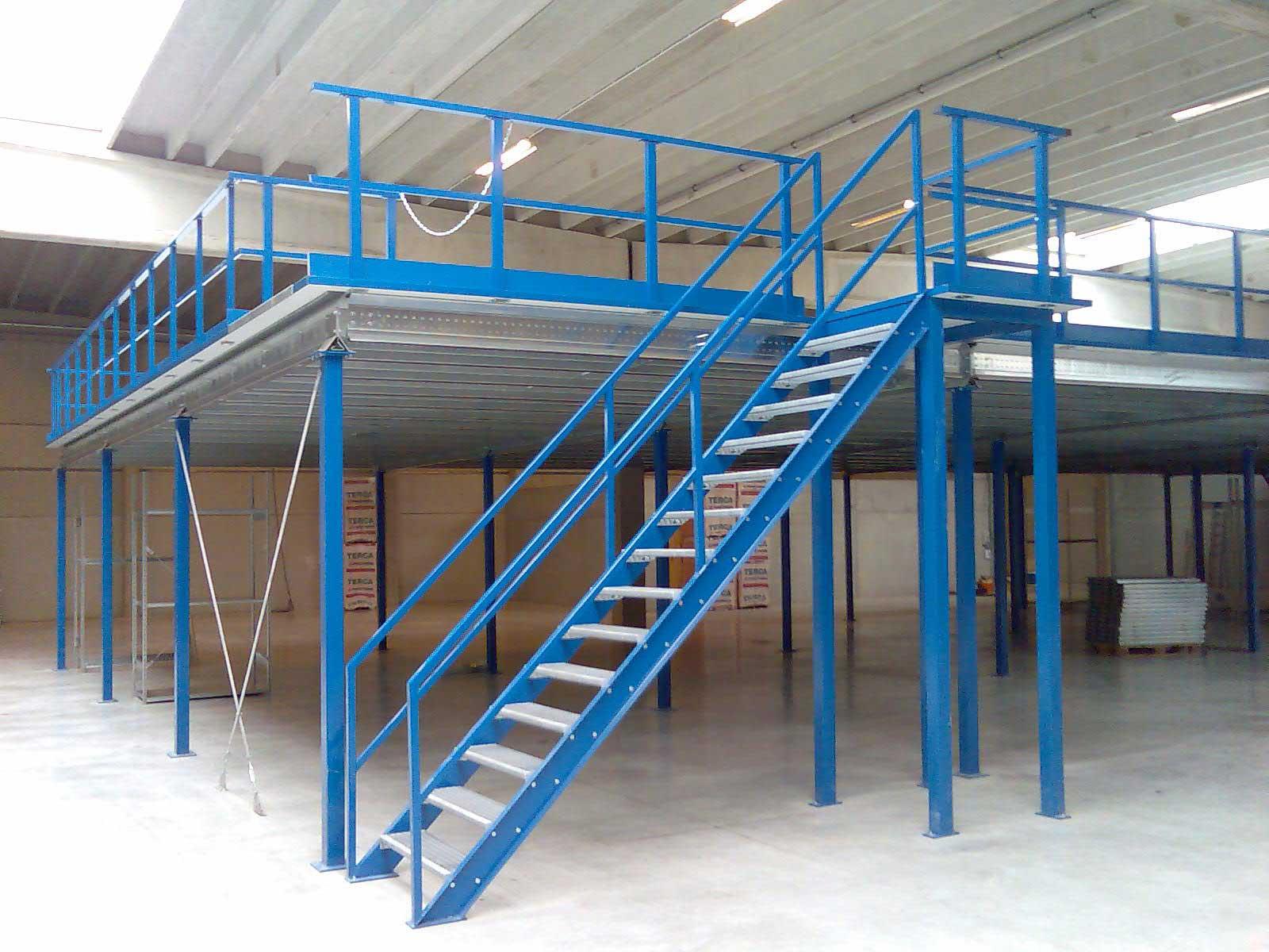 О мезонине или как обеспечить эффективное складское хранение стройматериалов и оборудования