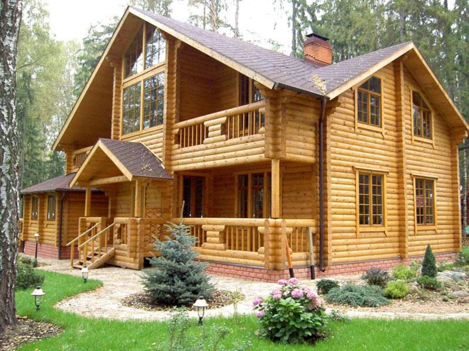 Обработка древесины для строительства частных домов