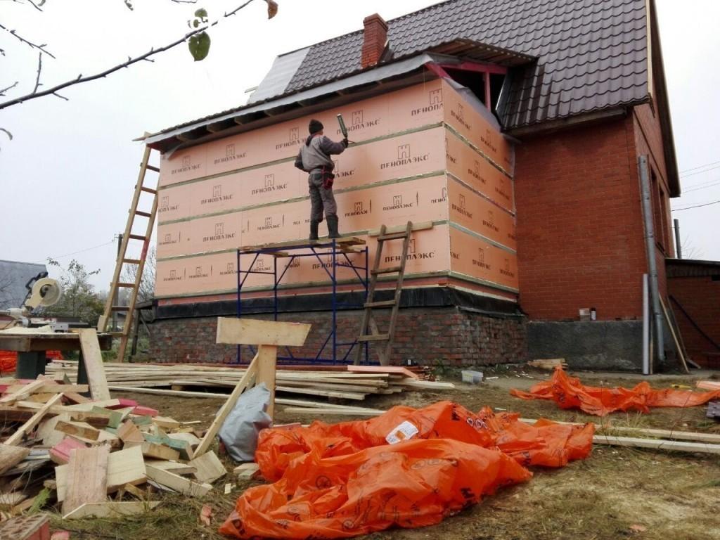 Реконструкция дома путем пристройки