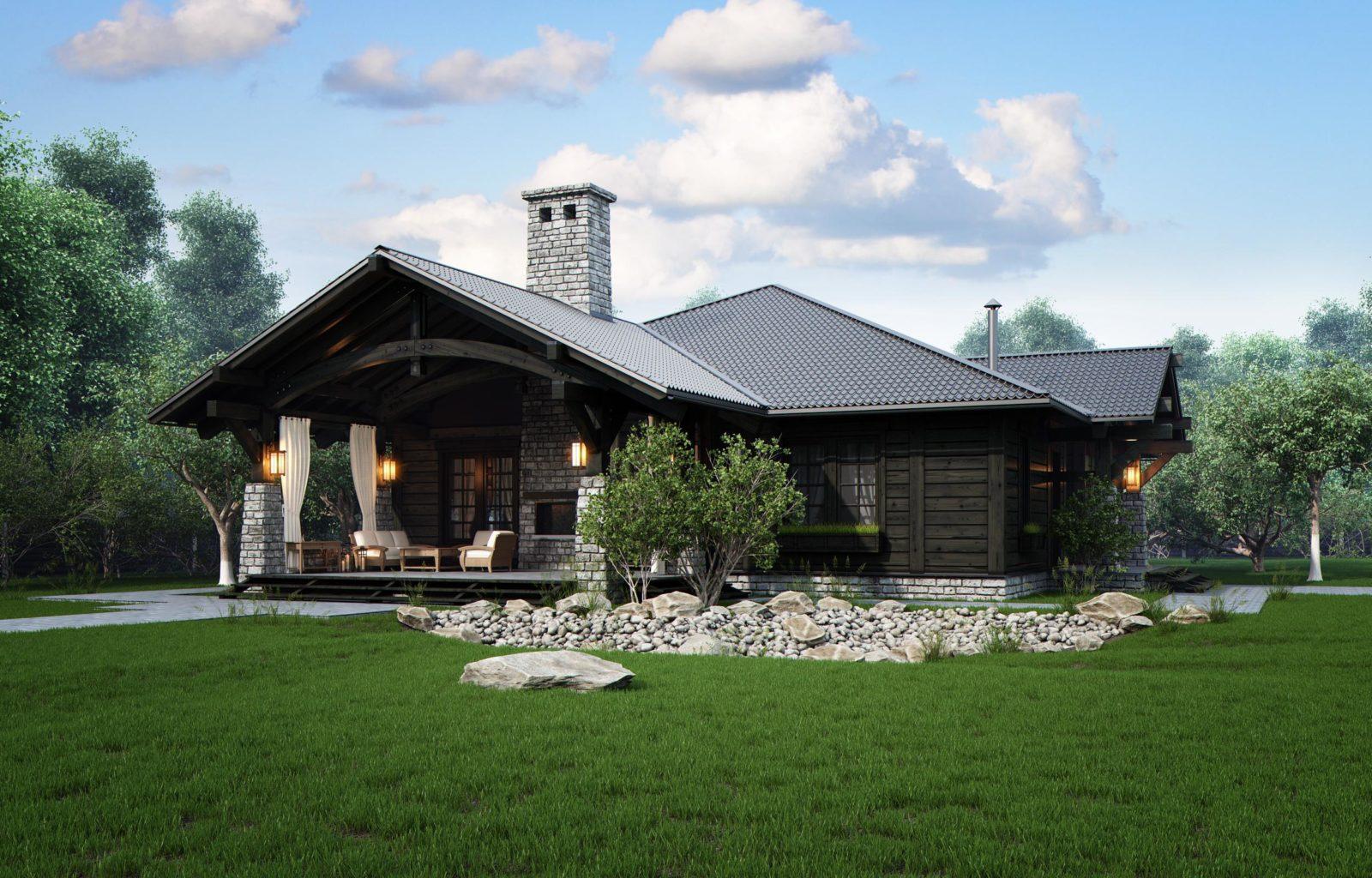 Строительство финского дома на дачном участке
