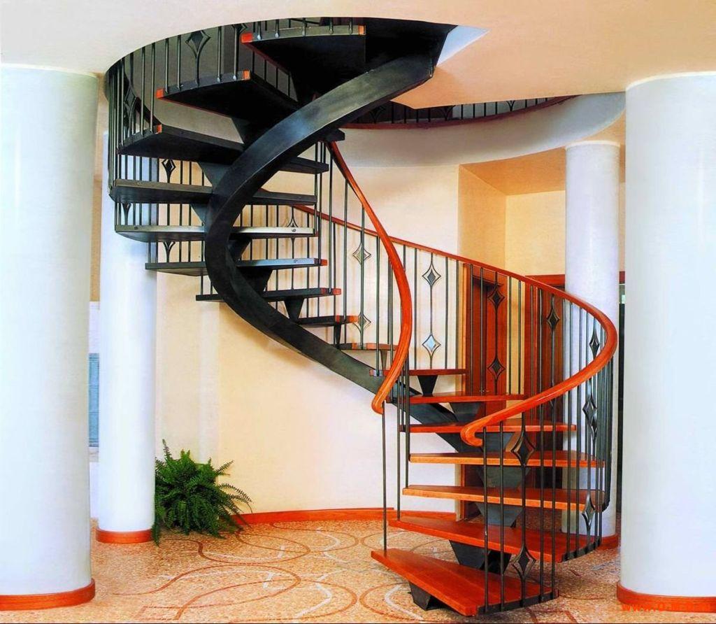 Строительство винтовой лестницы
