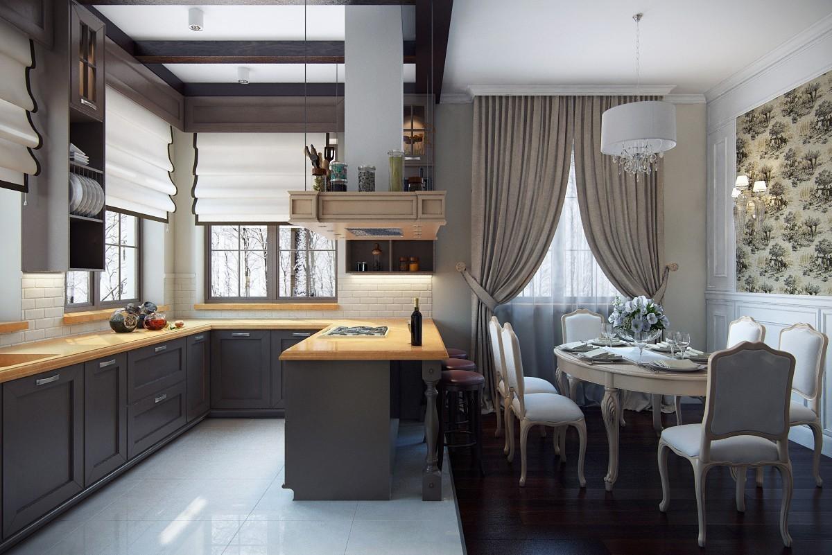 Услуги дизайна помещений загородных домов