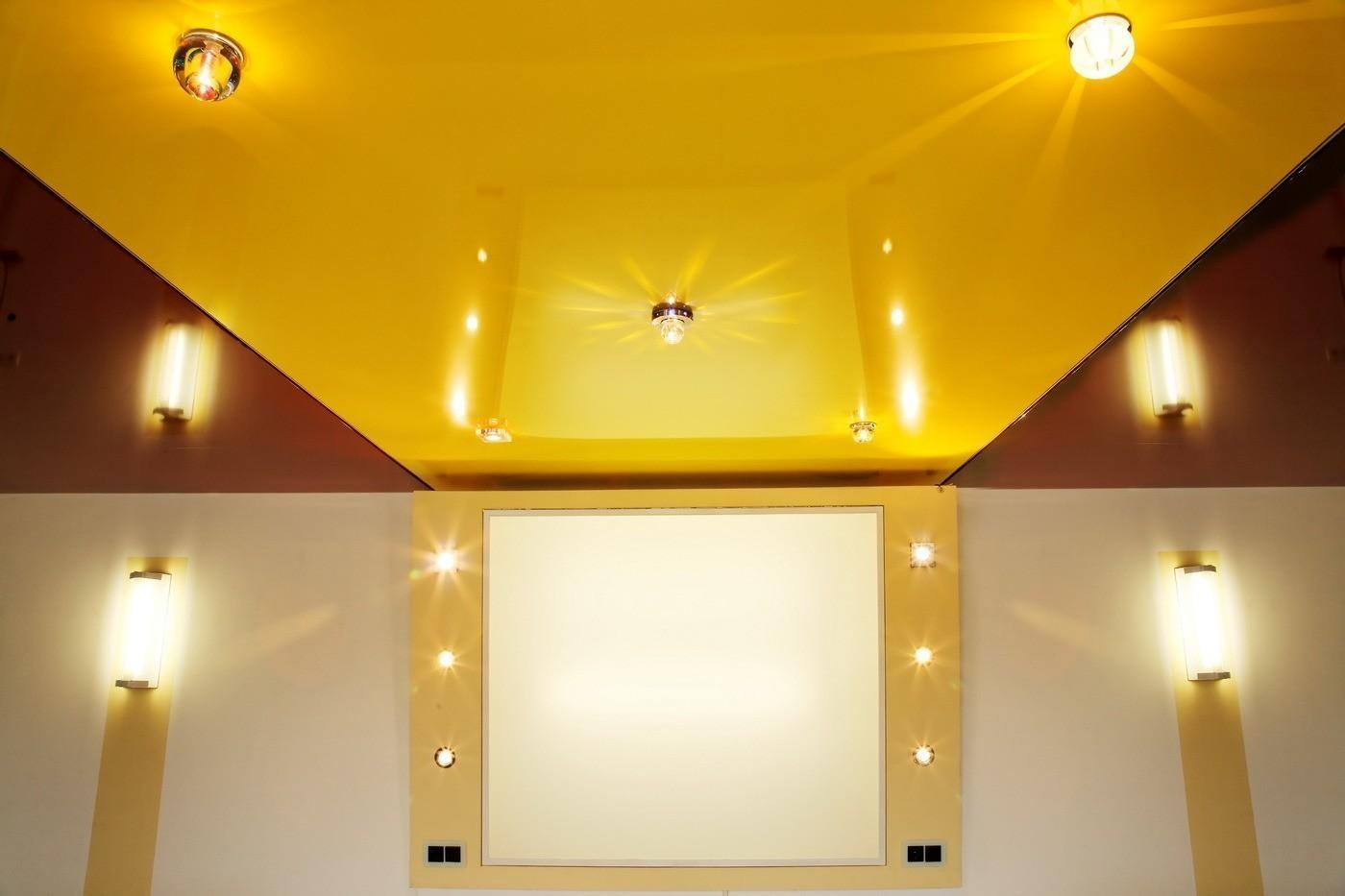 Выбор натяжных потолков. Какой потолок лучше матовый или глянцевый