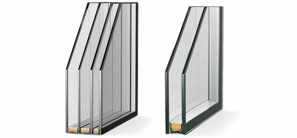 Выбор пластиковых окон двух или трехкамерные стеклопакеты