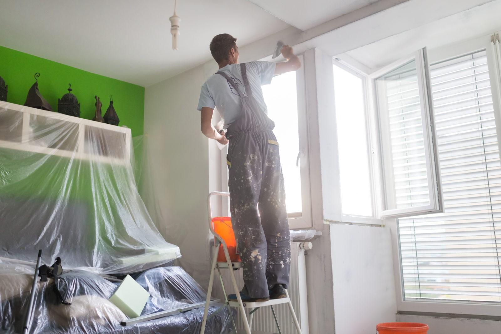 финишная шпаклевка потолка