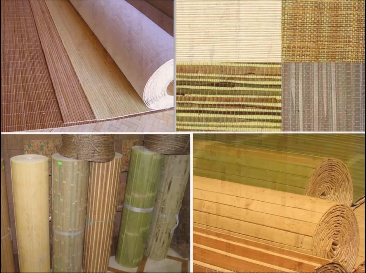 Бамбуковые обои - приятная атмосфера в помещении