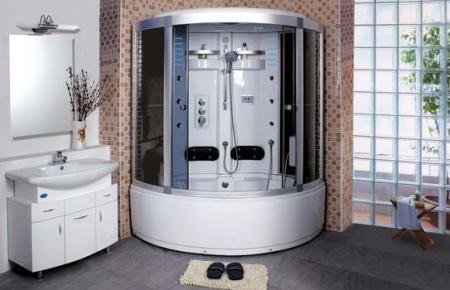 Роль душевой кабины в дизайне ванной комнаты