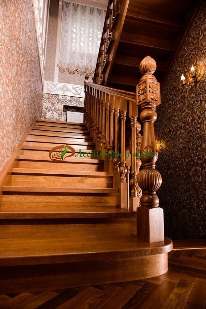 Комплектующие к деревянным лестницам