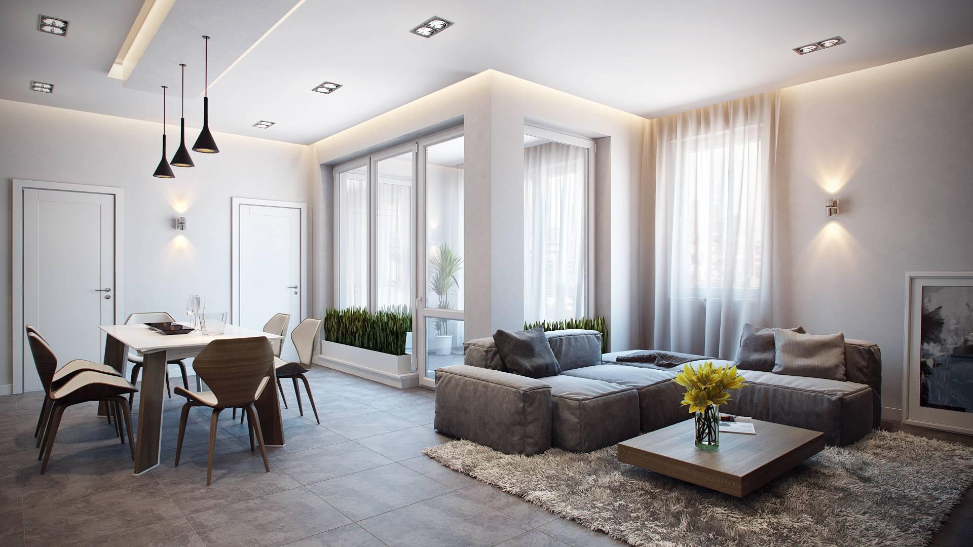 Современное освещение в квартире